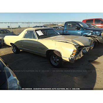 1971 Chevrolet El Camino for sale 101129220