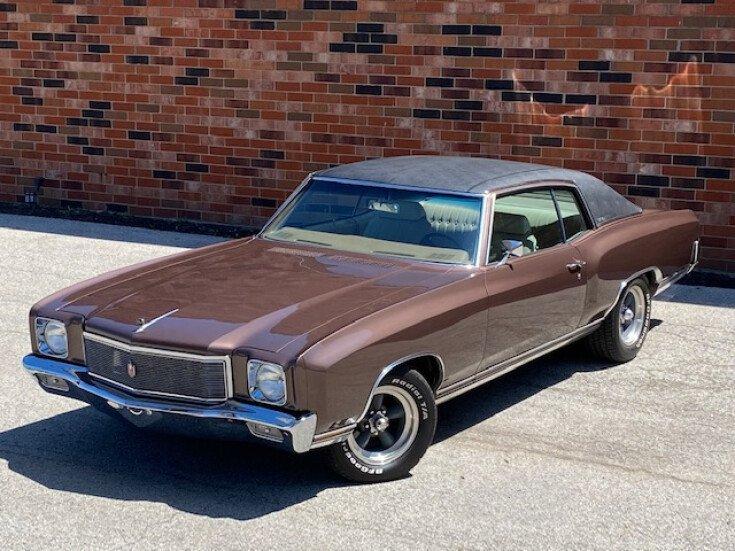 1971 Chevrolet Monte Carlo For Sale Near Addison Illinois 60101 Classics On Autotrader