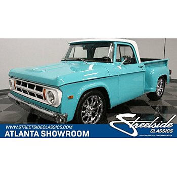 1971 Dodge D/W Truck for sale 101322302