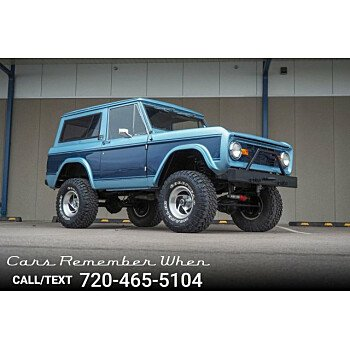1971 Ford Bronco for sale 101244582