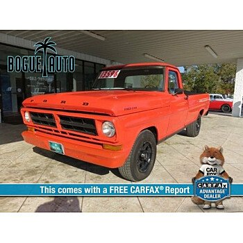 1971 Ford F100 for sale 100999008