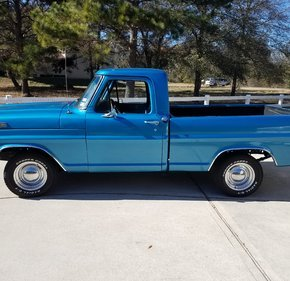 1971 Ford F100 2WD Regular Cab for sale 101028723