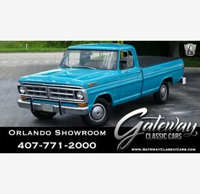 1971 Ford F100 for sale 101158982