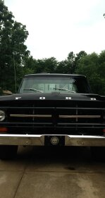 1971 Ford F100 2WD Regular Cab for sale 101193313