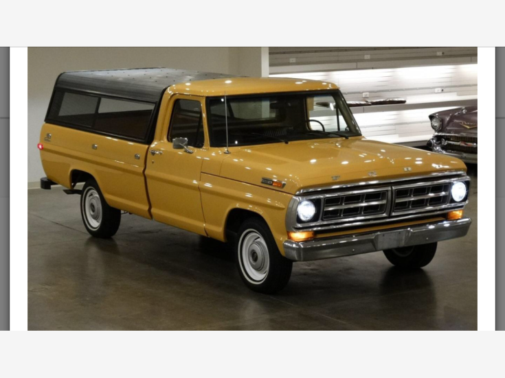 1971 Ford F100 2WD Regular Cab for sale 101218665