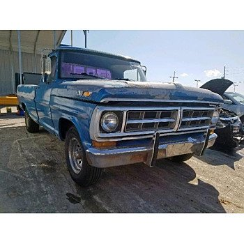 1971 Ford F100 for sale 101234625