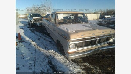 1971 Ford F100 for sale 101239001