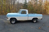 1971 Ford F100 2WD Regular Cab for sale 101286084