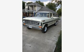 1971 Ford F100 2WD Regular Cab for sale 101356130