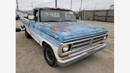 1971 Ford F100 for sale 101383027