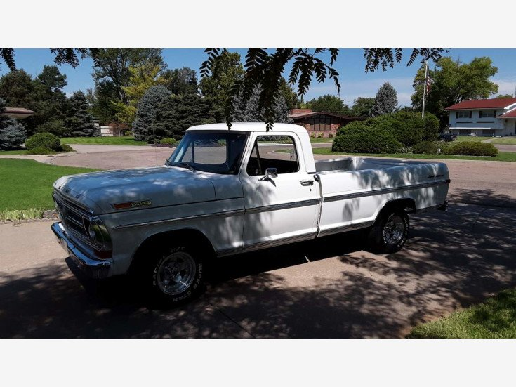 1971 Ford F100 2WD Regular Cab for sale 101554575