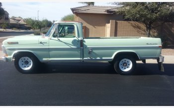 1971 Ford F250 2WD Regular Cab for sale 101066394