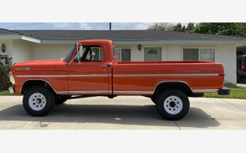 1971 Ford F250 4x4 Regular Cab for sale 101495283