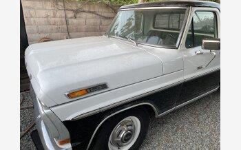 1971 Ford F250 2WD Regular Cab Super Duty for sale 101500304