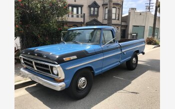 1971 Ford F250 Camper Special for sale 101623262