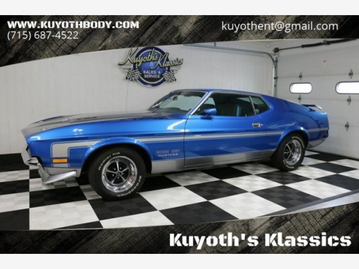 1971 Ford Mustang Boss 351 for sale near Stratford