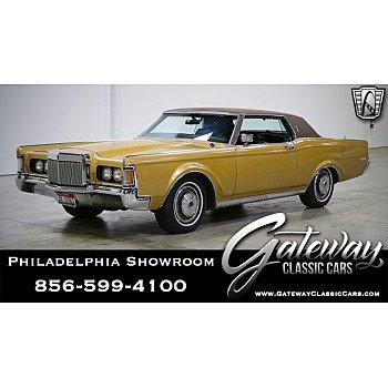 1971 Lincoln Continental for sale 101207371
