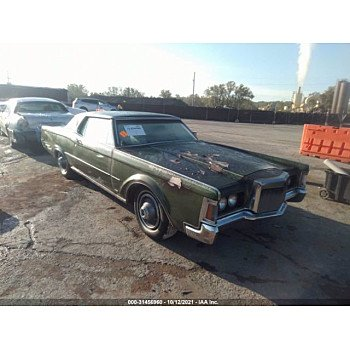 1971 Lincoln Continental for sale 101626890