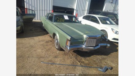 1971 Lincoln Other Lincoln Models for sale 101347061
