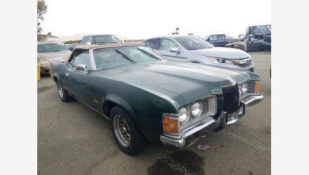 1971 Mercury Cougar for sale 101331438