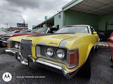 1971 Mercury Cougar for sale 101544632
