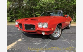 1971 Pontiac GTO for sale 101127278