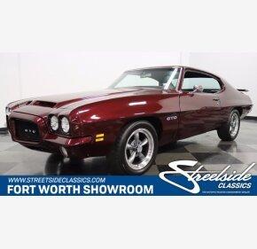 1971 Pontiac GTO for sale 101347804