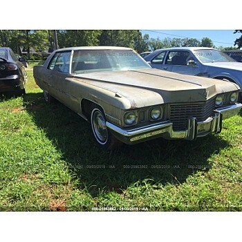 1972 Cadillac De Ville for sale 101200917
