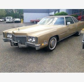 1972 Cadillac Eldorado for sale 101185572