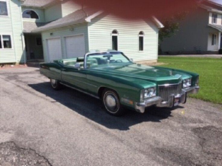 1972 Cadillac Eldorado Convertible for sale 101339001