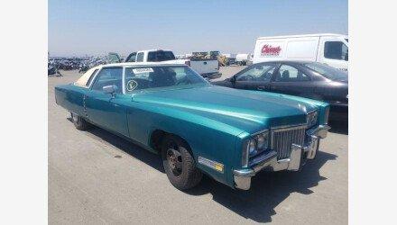 1972 Cadillac Eldorado for sale 101342912