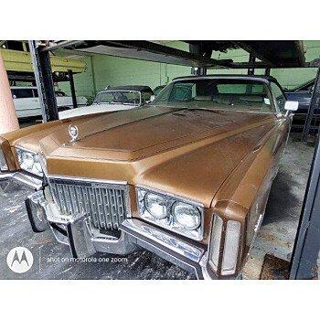 1972 Cadillac Eldorado for sale 101544713