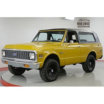 1972 Chevrolet Blazer for sale 101087730