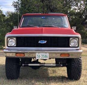1972 Chevrolet Blazer 4WD 2-Door for sale 101052935
