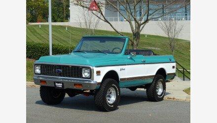 1972 Chevrolet Blazer for sale 101208184