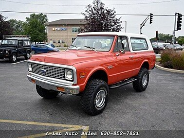 1972 Chevrolet Blazer for sale 101378843