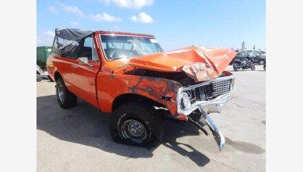 1972 Chevrolet Blazer for sale 101398382