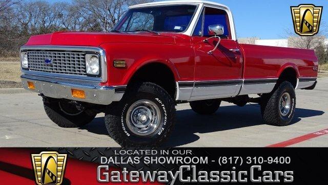 1972 Chevrolet C K Truck Classics For Sale Classics On Autotrader