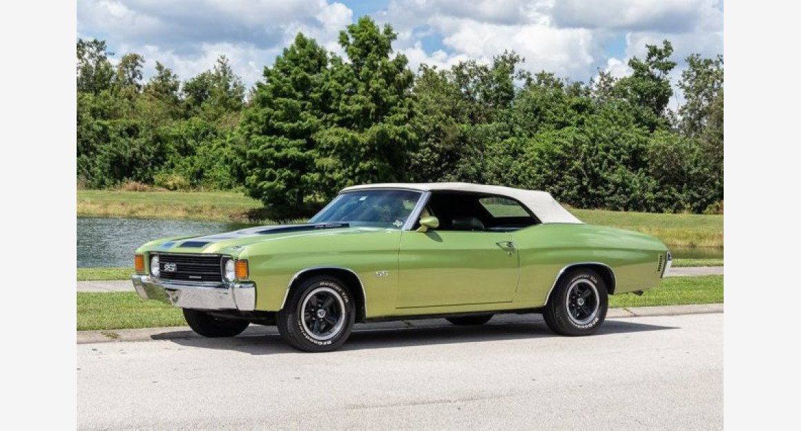 1972 Chevrolet Chevelle for sale 101030842