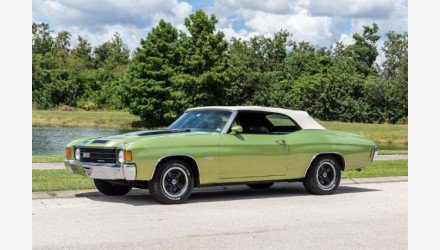 1972 Chevrolet Chevelle for sale 101025925