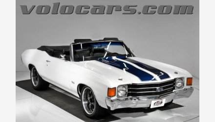 1972 Chevrolet Chevelle for sale 101210122
