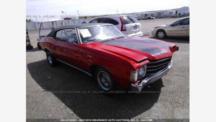 1972 Chevrolet Chevelle for sale 101258198