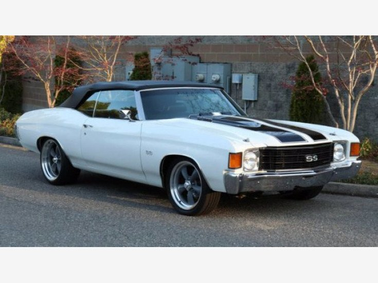 1972 Chevrolet Chevelle SS for sale 101586006