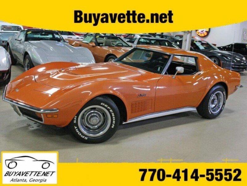 1972 Chevrolet Corvette Classics For Sale Classics On Autotrader