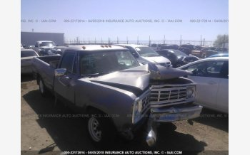 1972 Dodge D/W Truck for sale 101015330