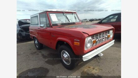 1972 Ford Bronco for sale 101289750