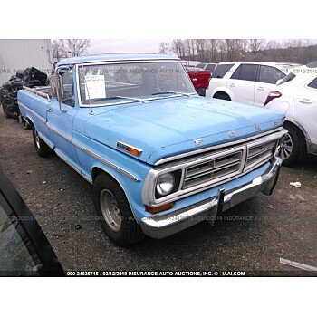 1972 Ford F100 for sale 101104388