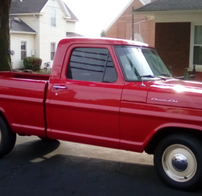 1972 Ford F100 2WD Regular Cab for sale 101014512