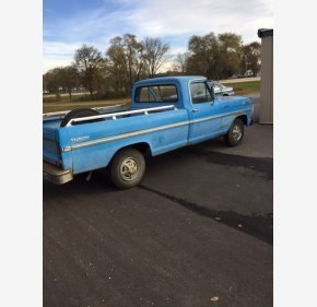 1972 Ford F100 2WD Regular Cab for sale 101053123