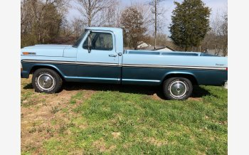 1972 Ford F100 2WD Regular Cab for sale 101105753